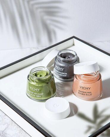 dezodorant aloje vera в Кыргызстан: Vichy Masque Apaisant A L`Aloe Vera ⠀ Маска восстанавливающая с алоэ