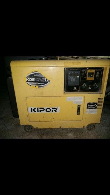 Xırdalan şəhərində Generator dizel yanacaqi ilə işləyir. Yüngül təmirə ehtiyaci