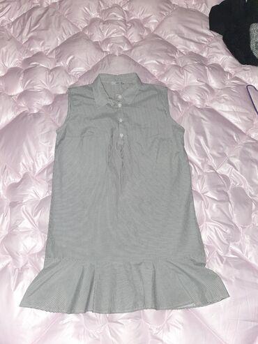 Платье рубашка (Короткое)  Размер 38 Качество хорошее
