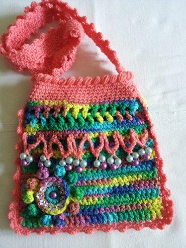Продаю вязаные сумочки для девочек, в Бишкек