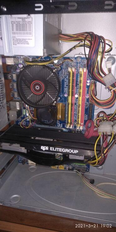 материнские платы 2 в Кыргызстан: Компьютер на windows 10 с игровой видеокартой процессор Core2Duo E7500