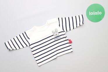 Топы и рубашки - Синий - Киев: Дитяча кофтинка у смужку для немовляти бренду Mothercare    Довжина: 2