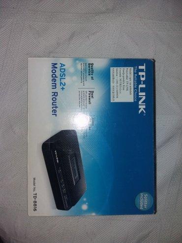 Tp link adsl2+ modem td 8816 - Pancevo