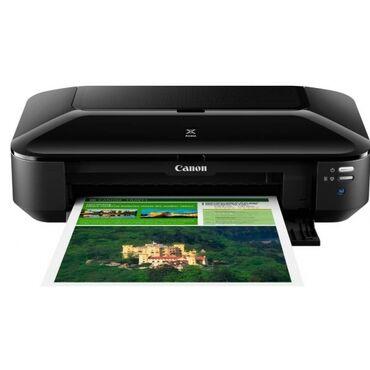 Новый принтер canon a3 формата 4-х цветный для маленького объема