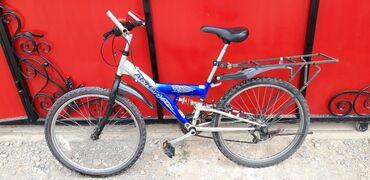 Срочно продаю велосипед Скоростной С амортизаторам С багажникомЕсть