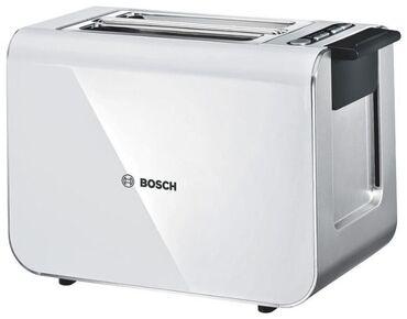 Тостер BOSCH TAT8611 Styline  --860 Вт, количество тостов: 2, корпус