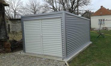 Montažne garaže 6m x 3m ili po želji. Pocinkovane ili plastificirane. - Kragujevac