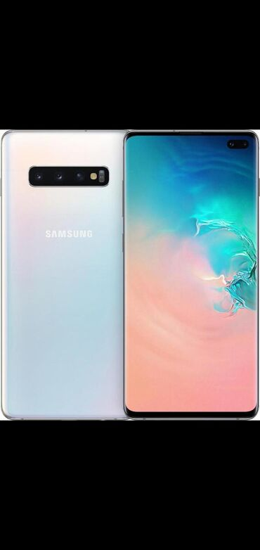 Samsung в Хырдалан: Б/у Samsung Galaxy S10 Plus 128 ГБ Белый