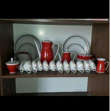 Bakı şəhərində Almaniya istehsali cay desti,55 predmet