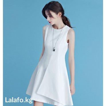 Нежнешее белое платье всего 1000сом в Бишкек