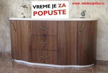 Atraktivne marame - Srbija: Komoda Karpina, izuzetno atraktivna i funkcionalna, ispunice sva