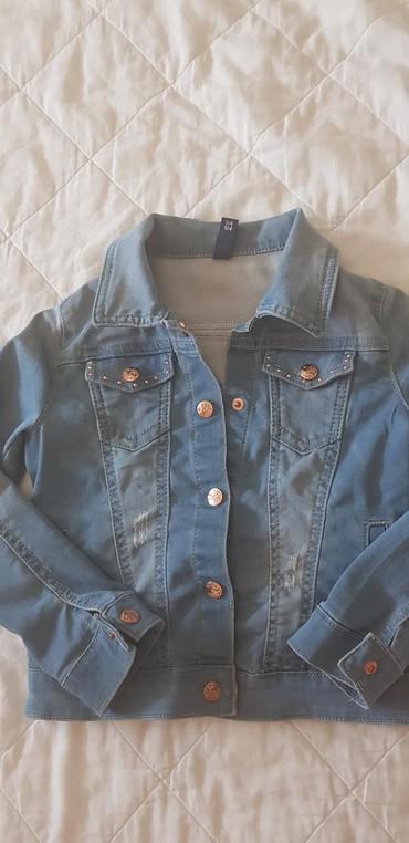 Dečije jakne i kaputi   Nis: NOVO- IDEXE teksas jaknica za devojcice, vel 3/4, 104 cm. Imam puno