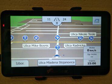 Komplet navgear 6,2 inča najnovije mape evrope - kamion ispravna i oču