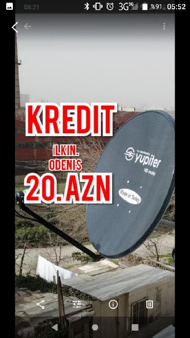superlux hd в Азербайджан: Krosnu krosnu kredit peyk antena quraşdırılması