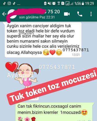 tuk token krem - Azərbaycan: Tuk token toz mocuzesi. 1aya gec ve seyrek tuk. Tuktokentoz lazere