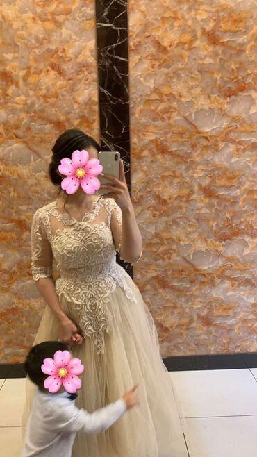 вечернее платье из франции в Кыргызстан: Продаю своё шикарное вечернее платье от дизайнера VONAMA одевала толь