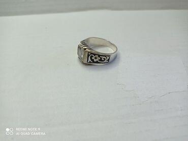 Серебряное мужское кольцо / печатка размер 22. Одевали очень редко. В