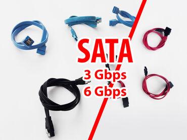 кабели и переходники для серверов minisas sata в Кыргызстан: Шлейфы SATA. (на 3 и 6 Gbps, прямые, Г-образные, с застёжками и