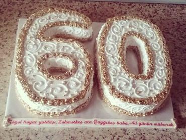 mastika tort - Azərbaycan: Tort sifarişi reqem tort
