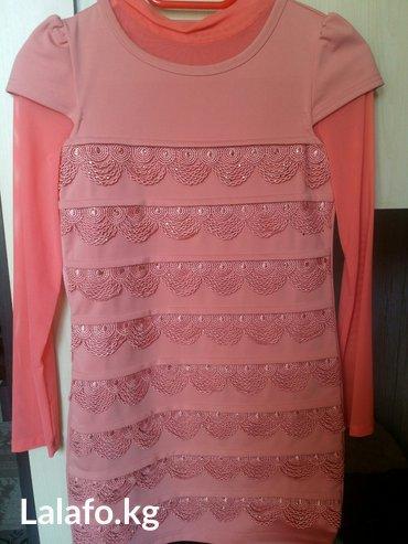 Продаю б/у платье тунику на девочку 7-8 лет. Нужно мерить. в Бишкек