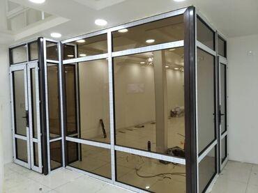 Перегородка в такси - Кыргызстан: Изготавливаю пластиковые алюминиевые окна двери изготавливаю офисные