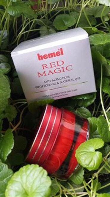 Hemel Red Magic krema je 100% prirodni, 100% organski, 100% biljni