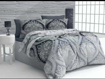 Pamucne posteljine singl posteljina 1 jastucnica 60x80 navlaka 140x200