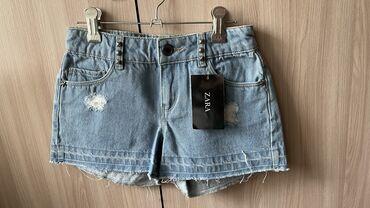 лада веста цена в бишкеке в Кыргызстан: Новые джинсовые шорты на худенькую девочку (размер xxs- xs) Цена: 450с
