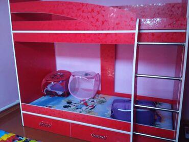 Мебель - Узген: Кровать двух ярусный сделан на заказ ( новый)