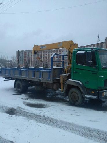 услуги кран в Кыргызстан: Услуги кран манипулятора.По Бишкеку и регионам