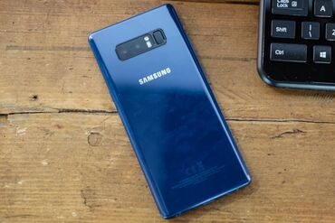 Samsung-m - Кыргызстан: Б/у Samsung Galaxy Note 8 256 ГБ Синий