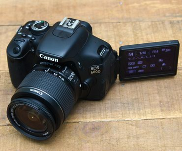 Bakı şəhərində Canon 600d modeli