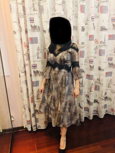 вечернее платье 44 размер в Кыргызстан: Продаю платье. Производство Турция. Одевала один раз. На размер 42-44