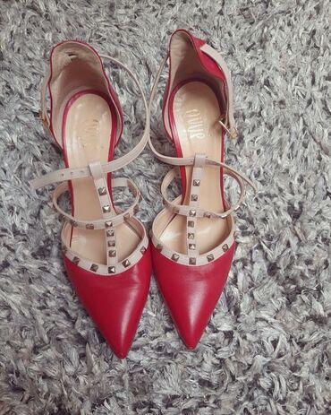 Kopija - Srbija: Valentino cipele kopija broj 39 cipele su nosene 2x, nemaju nikakv