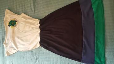 Haljina sa brosem vel.l pamucna - Pozarevac
