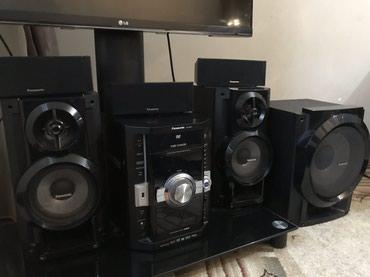 musiqi mərkəzi - Azərbaycan: Panasonic subwoofer ev kinoteatrı və musiqi mərkəzi. Çox az işlənib