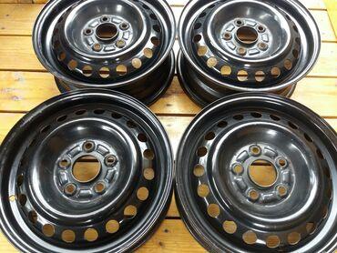 Оригинальные штампованные (стальные) диски Honda R15Полные параметры