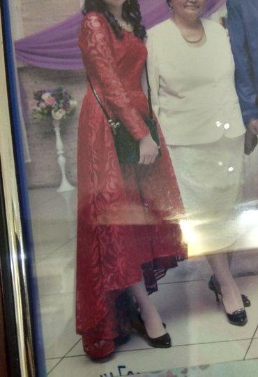 Платье Турция со шлейфом, надевалось всего раз(на свадьбу) в Бишкек