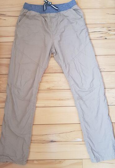 Braon somot pantalone - Srbija: IDEXE - termo postavljene pantalone za decake, italijanska marka, za
