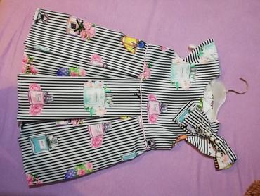 Haljina-postavljena - Srbija: Nova haljina, za devojcice od 2god do 4 godine. Velicina 104cm. Postav