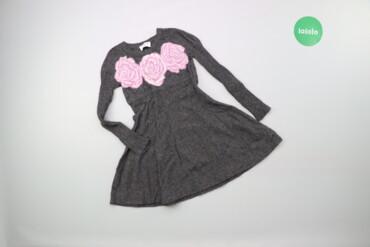 Дитяча тепла сукня у квітковий принт Monnalisa, вік 4 р., зріст 104 см