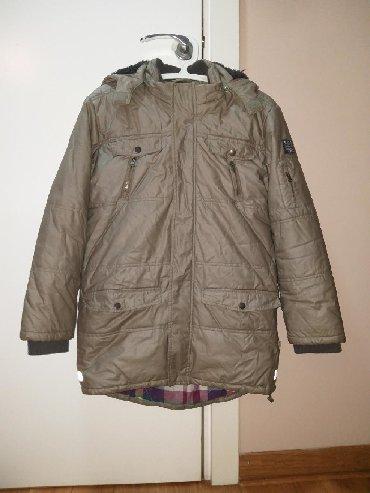 Jakna ovo - Srbija: Muška Kanz-ova zimska jakna.Uzrast: 12 godina(152cm).Malo nošena