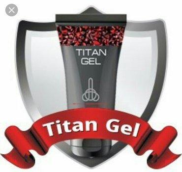 Bakı şəhərində Titan gel cinsi aktivkik ve penis biyuducu mehsuldur