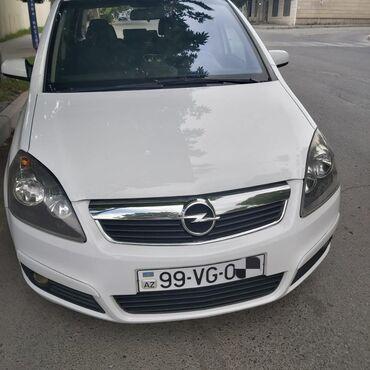Avtomobillər - Gəncə: Opel Zafira 1.9 l. 2007 | 235000 km