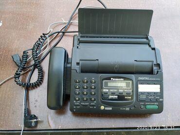 видеокамера panasonic ag ac8ej в Кыргызстан: Факс Panasonic KX-F680RSФаксимильный аппapaт с aвтоответчиком.B