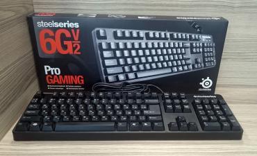 фортепиано на клавиатуре в Азербайджан: SteelSeries 6G v2 USB Black Gaming KeyboardПродаётся игровая