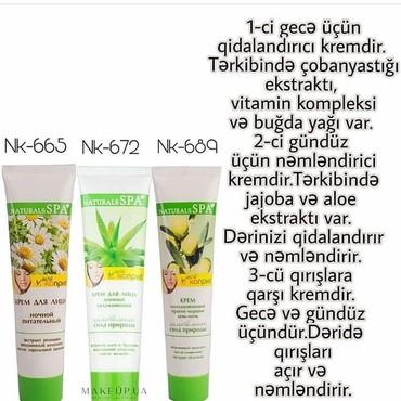 spa уход в Азербайджан: Sebilife şirkəti.Natural spa kremləri 1-ədədi 5 azn