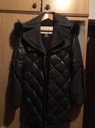 Kaput-jakna m velicina,kapuljaca pravo krzno - Odzaci