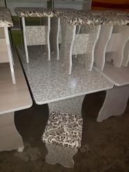 стол на кухню раскладной в Кыргызстан: Стол табуретки