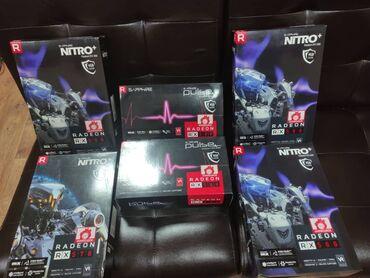 Видеокарты rx 580sapphire amd radeon rx 580 nitro+ 4gb gddr5 256bit